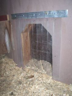 I like the vinyl strips for the chicken door during cold weather. Would also help with the flies during hot weather.