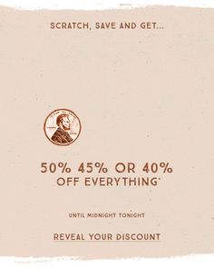 Lucky Brand: Shop 50%, 45%, Or 40% Off Mystery Day