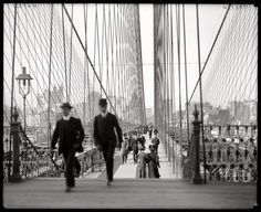 Brooklyn, Bridge, 1910