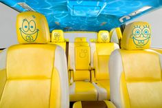SpongeBob SquarePants-themed 2014 Toyota Highlander