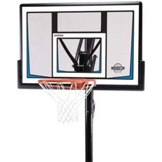 Lifetime Portable Basketball Hoops - 90083 50-inch Backboard Goal System