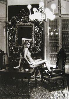 Helmut Newton, Charlotte Rampling, Hotel Nord Pinus II, 1973