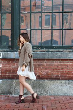 How To Layer Your Summer Dresses for Fall | Free People Blog #freepeople