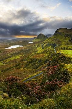 Quiraing sunrise, Scotland