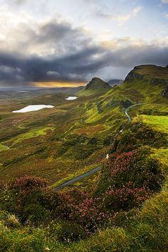 Quiraing sunrise, Scotland