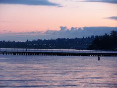 Juanita Bay Park, Kirkland, Washington:  a lovely park for a short sunset walk with your favorite people
