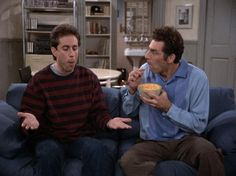 Jerry Seinfeld and Kramer