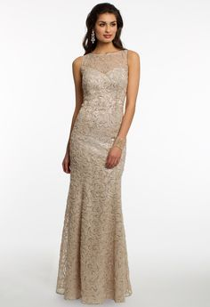 Sequin Lace Dress #c