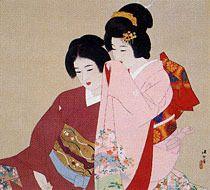 Kaburaki Kiyokata (鏑木清方) 1878-1972, Japanese Artist