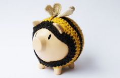 bumble bee piggy bank by bobo objects in Argentina