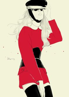 Chun Fui Ng is Malaysia based artist who painted mind-blowing fashion illustrations.