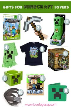 DIY last minute minecraft gifts | Couture pour enfants/ Sewing for ...