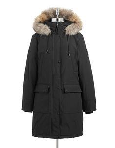 Brands | Coats & Jackets | Plus Water-Resistant Down Filled Coat | Hudson's Bay
