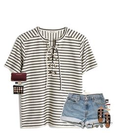 """•Baby, I like your style•"" by maggie-prep ❤ liked on Polyvore featuring Madewell, Kate Spade, Michael Kors, Kendra Scott, Ray-Ban, MICHAEL Michael Kors, Too Faced Cosmetics, NARS Cosmetics, Bobbi Brown Cosmetics and maggiesbestsets"