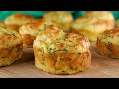 Best Zucchini Recipes, How To Cook Zucchini, Vegetable Recipes, Baking Recipes, Snack Recipes, Egg Recipes For Breakfast, Savory Snacks, Food And Drink, Yummy Food
