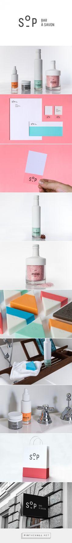 SOP Soap Bar Branding by Krystina Kouros on Behance | Fivestar Branding – Design and Branding Agency & Inspiration Gallery