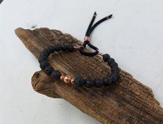 Lava+and+Copper+Bracelet+Yoga+Bracelet+Boho+by+ColeTaylorDesigns