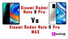 Xiaomi Redmi Note 9 Pro vs Xiaomi Redmi Note 9 Pro Max Note 9, Knowledge, Cards, Consciousness, Maps