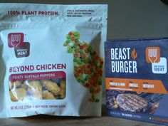 Wow!! New from @beyondmeat I'll be on the lookout for these!! Excited to try them! The more vegan options, the merrier! #MyVeganJournal
