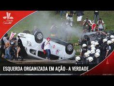 As Mentiras sobre os protestos em Brasília. Esquerda Organizada Agindo!