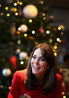 Pin for Later: The Duchess of Cambridge Shines Brighter Than a Christmas Light as She Makes Music With Children