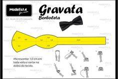 A3 NUMo 0023 GRAVATA BORBOLETA