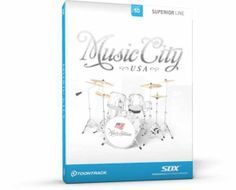 Toontrack Music City USA SDX HYBRID DVDR D1,D2,D3 AiRiSO magesy.pro