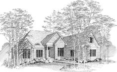 Treyburn - 2,806 sq. ft. per plan  sq. ft. does not include unfinished area  3 bedrooms  3 baths - 1 half bath  3 car garage  Width - 70'  Depth - 72' 10""
