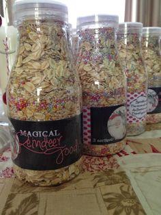 Magical Reindeer Food - Free Printable