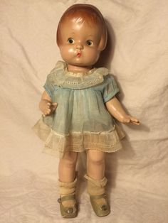 """Vintage Composition EFFANBEE PATSY Doll... 14"""" 1930's Antique #Dolls"""