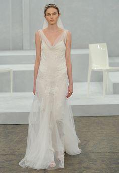 Monique Lhuillier Spring 2015 Wedding Dresses - The Knot Blog