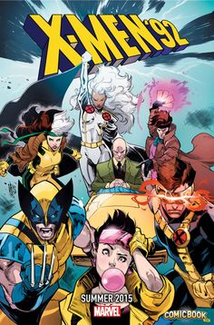 Marvel Teases X-Men '92's Return | Comicbook.com  AND LET'S ALL PAUSE TO THANK THE MAKER FOR THE RETURN OF THE GOLD OLD BLUE AND GOLD (TEAMS, that is)