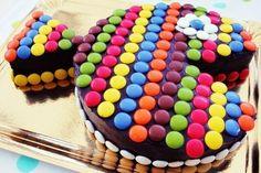 Cake recipes for kids, passion fruit recipes cake - Baby Cake Images Easy Cakes For Kids, Cake Recipes For Kids, Cake Kids, Fruit Recipes, Bolo Pac Man, Baby Cakes, Cupcake Cakes, Kid Cakes, Fish Cake Birthday