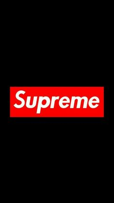 #supreme #black #wallpaper #iPhone #android