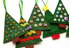 http://www.digsdigs.com/56-original-felt-ornaments-for-your-christmas-tree/