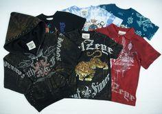 BULZEYE CHRISTIAN AUDIGIER Boys 6pc Lot Size 4 5 S M T-Shirt Polo Knit Jacket #Bulzeye