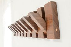 This tutorial will show you how to build a modern coat rack. This modern coat rack design made from Black Walnut wood is both stylish and functional. Chevron Headboard, Wood Headboard, Diy Wood Projects, Woodworking Projects, Youtube Woodworking, Woodworking Workbench, Diy Coat Rack, Coat Racks, Wall Coat Rack
