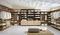 The modern man who values his appearance is also being drawn to the concept of a well organised #wardrobe.