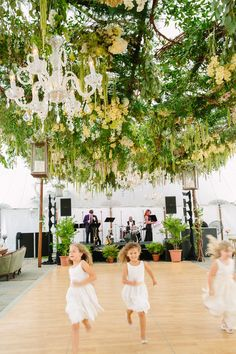 This dance floor canopy is amazing. Colin Cowie. Photography: Tory Williams Photography - torywilliams.com  Read More: http://www.stylemepretty.com/2014/01/09/colin-cowie-wedding-in-buttermilk-falls/