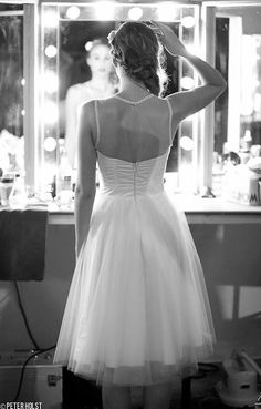 robe de mariée courte / short wedding dress