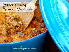 about Meatballs on Pinterest | Turkey meatballs, Chicken meatballs ...
