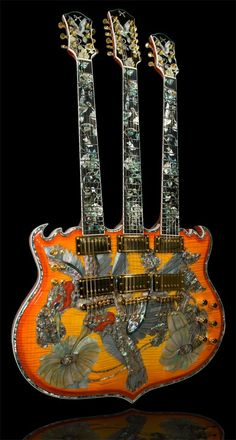 """The Triple Nectar"" ..  Manarik guitars"