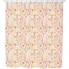 Uneekee Summer Flowers At Dawn Shower Curtain