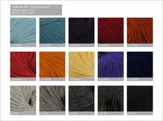 Indiecita DK dyed colours