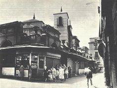 El mercado de San Ildefonso (1834 - 1970), el primero cubierto de Madrid. #Malasaña