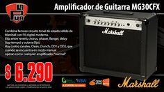 La Púa San Miguel: Amplificador para Guitarra MARSHALL MG30CFX