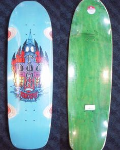 Dogtown Skates Ben Schroeder Pool Deck 9.5 x 33.5 WB 15.5 Pool Tile Blue
