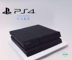 エンビガドとメデジンの絶妙な芸術的なケーキ - Everything About Playstation Ps4 Cake, Playstation Cake, Dad Birthday Cakes, 13 Birthday, Fondant Tutorial, Cake Videos, Gamer Gifts, Cake Decorating Tutorials, Cakes For Boys