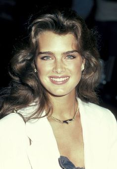 Brooke Shields, a legend for decades (here, in  1983). See 49 more vintage images of the timeless beauty.