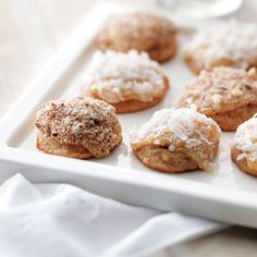 Apricot Cream Cheese Drops Cookies Recipe from Taste of Home  #ChristmasCookies